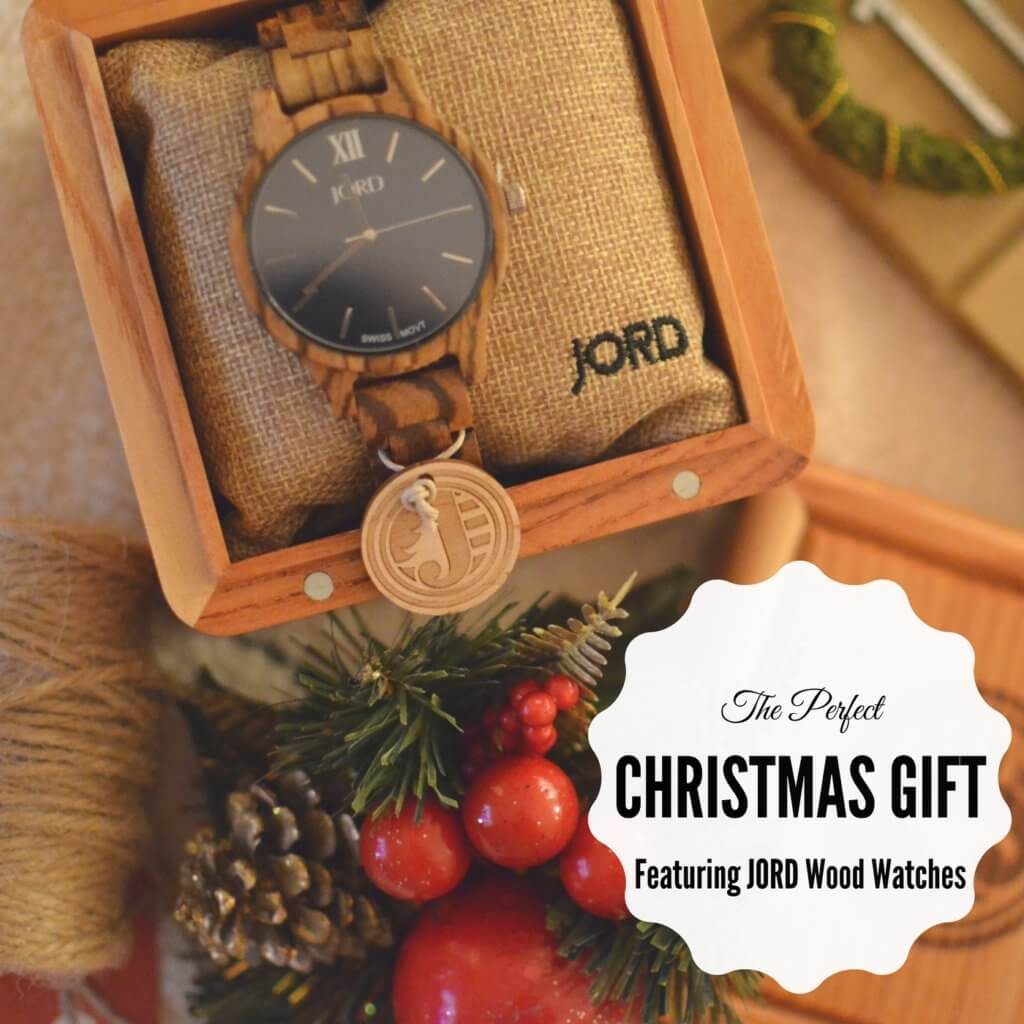 The Perfect Christmas Gift Featuring JORD Wood Watches ...