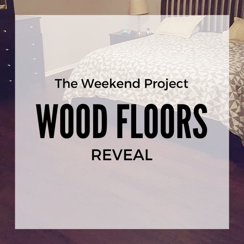 The weekend project wood floors reveal two little rippers for Project weekend