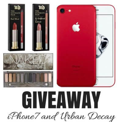 iPhone7 and Urban Decay Giveaway