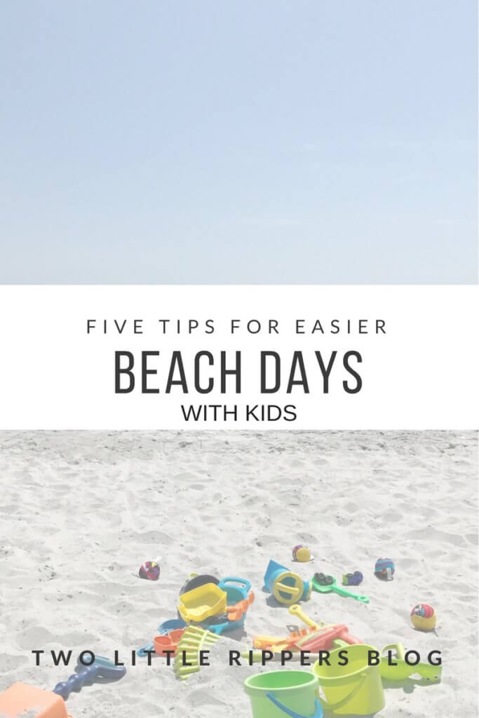 beach days with kids