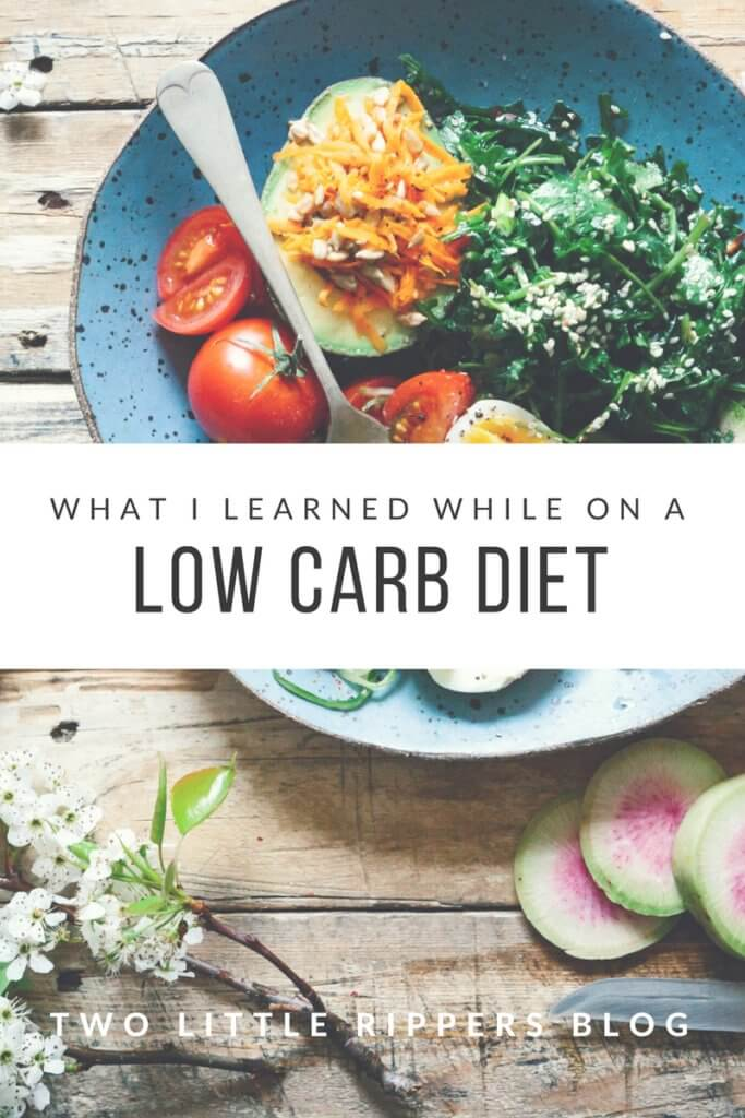 What I learned while on a low carb diet